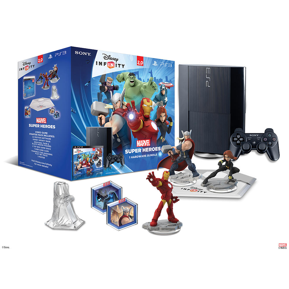 Disney Infinity Marvel Super Heroes Hardware Bundle for Sony PS3