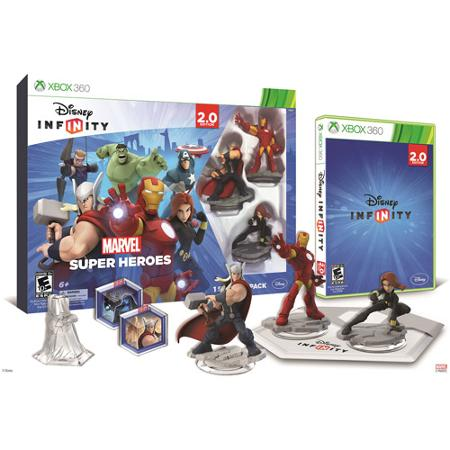 Disney Infinity Marvel Super Heroes Video Game Starter Pack XBox360
