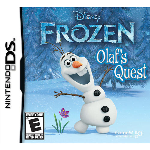 Frozen Olaf's Quest for Nintendo DS