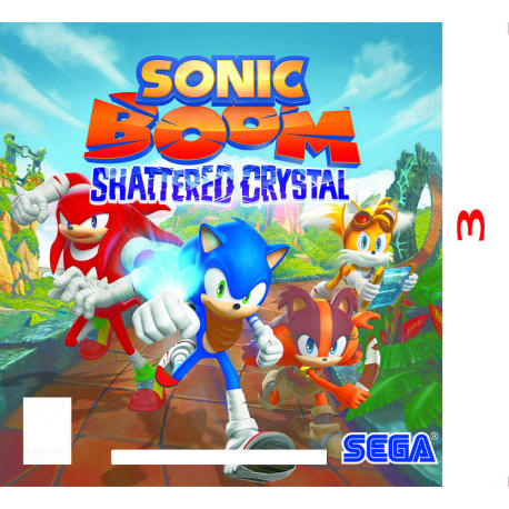 Sonic Boom Shattered Crystal for Nintendo 3DS