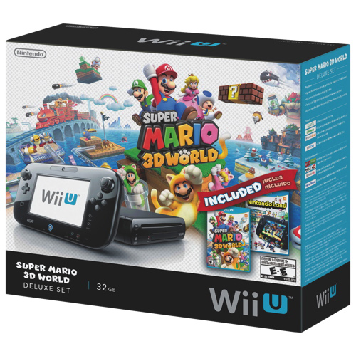 Super Mario 3D World Wii U 32GB Deluxe Console